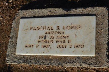 LOPEZ, PASCUAL R - Pinal County, Arizona | PASCUAL R LOPEZ - Arizona Gravestone Photos