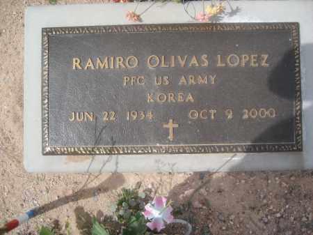 LOPEZ, RAMIRO OLIVAS - Pinal County, Arizona | RAMIRO OLIVAS LOPEZ - Arizona Gravestone Photos