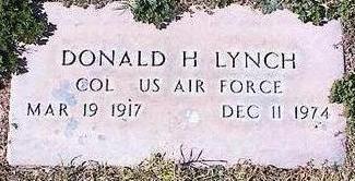 LYNCH, DONALD H. - Pinal County, Arizona | DONALD H. LYNCH - Arizona Gravestone Photos