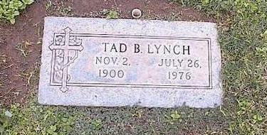 LYNCH, TAD B. - Pinal County, Arizona | TAD B. LYNCH - Arizona Gravestone Photos