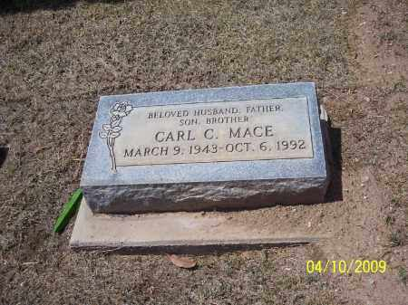 MACE, CARL C. - Pinal County, Arizona | CARL C. MACE - Arizona Gravestone Photos