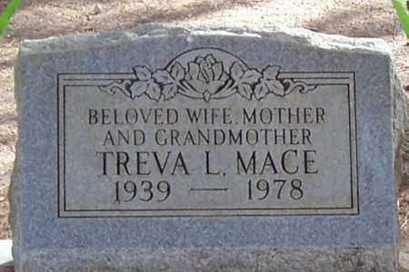MACE, TREVA LEE - Pinal County, Arizona   TREVA LEE MACE - Arizona Gravestone Photos