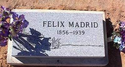 MADRID, FELIX - Pinal County, Arizona   FELIX MADRID - Arizona Gravestone Photos