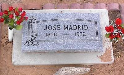 MADRID, JOSE - Pinal County, Arizona   JOSE MADRID - Arizona Gravestone Photos