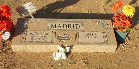 MADRID, JOHN V. - Pinal County, Arizona | JOHN V. MADRID - Arizona Gravestone Photos