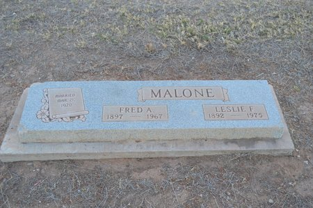 MALONE, FRED A. - Pinal County, Arizona | FRED A. MALONE - Arizona Gravestone Photos
