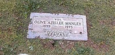 MANLEY, OLIVE AZIELEE - Pinal County, Arizona | OLIVE AZIELEE MANLEY - Arizona Gravestone Photos