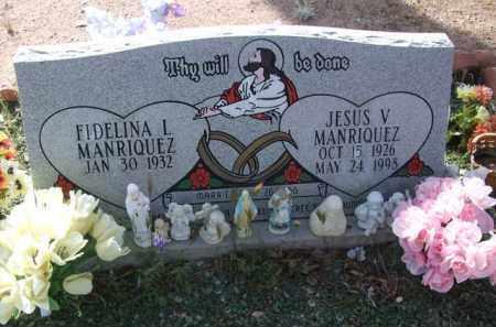 MANRIQUEZ, JESUS V. - Pinal County, Arizona | JESUS V. MANRIQUEZ - Arizona Gravestone Photos