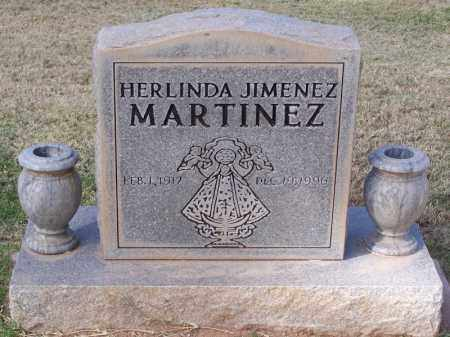 JIMENEZ MARTINEZ, HERLINDA - Pinal County, Arizona | HERLINDA JIMENEZ MARTINEZ - Arizona Gravestone Photos