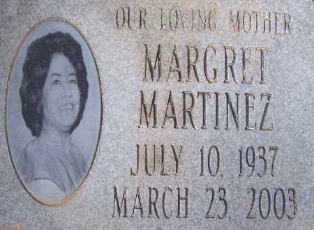 MARTINEZ, MARGRET - Pinal County, Arizona | MARGRET MARTINEZ - Arizona Gravestone Photos