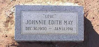 MAY, JOHNNY EDITH - Pinal County, Arizona   JOHNNY EDITH MAY - Arizona Gravestone Photos