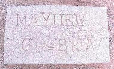 MAYHEW, CLYDE ALEXANDER - Pinal County, Arizona | CLYDE ALEXANDER MAYHEW - Arizona Gravestone Photos