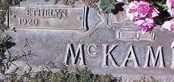 MCKAMLY, ETHELYN - Pinal County, Arizona | ETHELYN MCKAMLY - Arizona Gravestone Photos