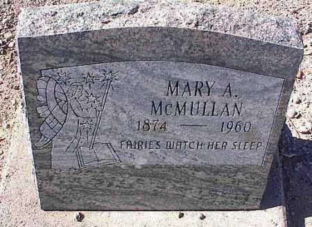 MC MULLAN, MARY A. - Pinal County, Arizona | MARY A. MC MULLAN - Arizona Gravestone Photos