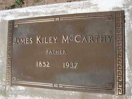 MCCARTHY, JAMES KILEY - Pinal County, Arizona | JAMES KILEY MCCARTHY - Arizona Gravestone Photos