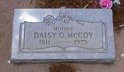 MCCOY, DAISY O. - Pinal County, Arizona   DAISY O. MCCOY - Arizona Gravestone Photos