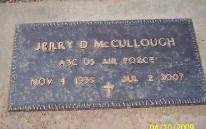 MCCULLOUGH, JERRY D. - Pinal County, Arizona | JERRY D. MCCULLOUGH - Arizona Gravestone Photos