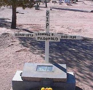 MCDONALD, LEONIDES C. - Pinal County, Arizona | LEONIDES C. MCDONALD - Arizona Gravestone Photos