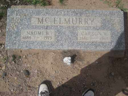 MCELMURRY, NAOMI B. - Pinal County, Arizona | NAOMI B. MCELMURRY - Arizona Gravestone Photos