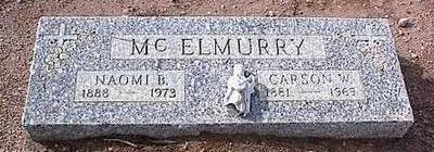 MCELMURRY, NAOMI B. - Pinal County, Arizona   NAOMI B. MCELMURRY - Arizona Gravestone Photos