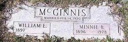 MCGINNIS, WILLIAM E. - Pinal County, Arizona | WILLIAM E. MCGINNIS - Arizona Gravestone Photos