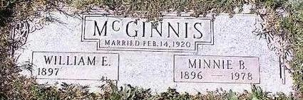 MCGINNIS, MINNIE B. - Pinal County, Arizona | MINNIE B. MCGINNIS - Arizona Gravestone Photos
