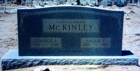 MCKINLEY, SALLIE F. - Pinal County, Arizona | SALLIE F. MCKINLEY - Arizona Gravestone Photos
