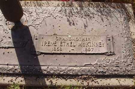 MCKINNEY, IRENE ETHEL - Pinal County, Arizona | IRENE ETHEL MCKINNEY - Arizona Gravestone Photos