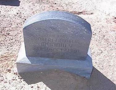 MCKINNEY, ROBERT FRANKLIN - Pinal County, Arizona | ROBERT FRANKLIN MCKINNEY - Arizona Gravestone Photos