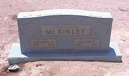 MCKINNLEY, GEORGE E. - Pinal County, Arizona   GEORGE E. MCKINNLEY - Arizona Gravestone Photos
