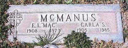 MCMANUS, E. L. [MAC] - Pinal County, Arizona | E. L. [MAC] MCMANUS - Arizona Gravestone Photos