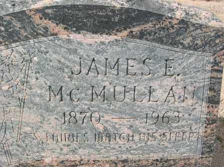MCMULLAN, JAMES E. - Pinal County, Arizona | JAMES E. MCMULLAN - Arizona Gravestone Photos