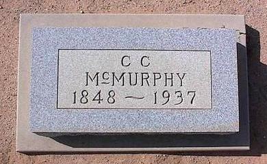 MCMURPHY, C.C. - Pinal County, Arizona | C.C. MCMURPHY - Arizona Gravestone Photos