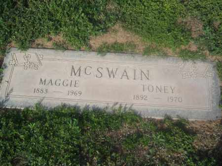 MCSWAIN, TONEY - Pinal County, Arizona | TONEY MCSWAIN - Arizona Gravestone Photos