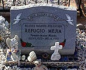 MEJIA, RUFUGIO - Pinal County, Arizona | RUFUGIO MEJIA - Arizona Gravestone Photos