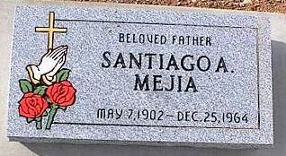 MEJIA, SANTIAGO A. - Pinal County, Arizona | SANTIAGO A. MEJIA - Arizona Gravestone Photos