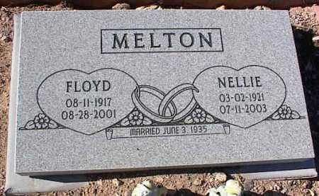 MELTON, FLOYD - Pinal County, Arizona   FLOYD MELTON - Arizona Gravestone Photos