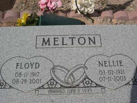 MELTON, FLOYD - Pinal County, Arizona | FLOYD MELTON - Arizona Gravestone Photos