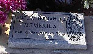 MEMBRILA, AMELIA - Pinal County, Arizona | AMELIA MEMBRILA - Arizona Gravestone Photos