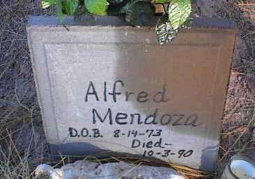 MENDOZA, ALFRED - Pinal County, Arizona | ALFRED MENDOZA - Arizona Gravestone Photos