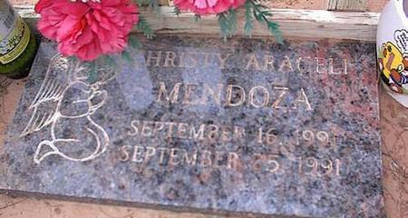 MENDOZA, CHRISTY ARACELI - Pinal County, Arizona | CHRISTY ARACELI MENDOZA - Arizona Gravestone Photos