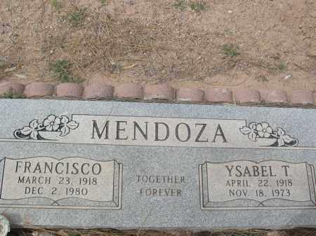 MENDOZA, FRANCISCO - Pinal County, Arizona | FRANCISCO MENDOZA - Arizona Gravestone Photos