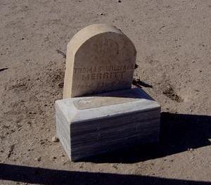 MERRITT, THOMAS WILLIAM - Pinal County, Arizona | THOMAS WILLIAM MERRITT - Arizona Gravestone Photos