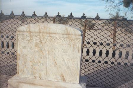 MICHEA, JOHN B. - Pinal County, Arizona | JOHN B. MICHEA - Arizona Gravestone Photos