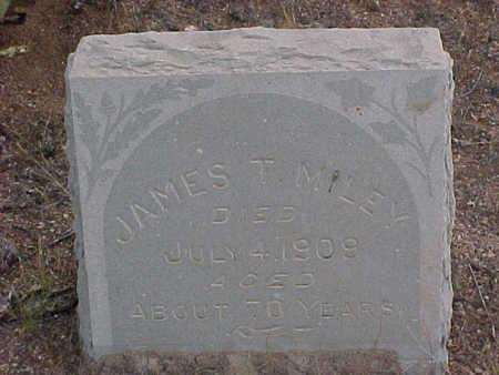 MILEY, JAMES T. - Pinal County, Arizona   JAMES T. MILEY - Arizona Gravestone Photos