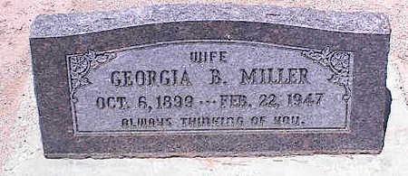 BRADBURY MILLER, GEORGIA B. - Pinal County, Arizona | GEORGIA B. BRADBURY MILLER - Arizona Gravestone Photos