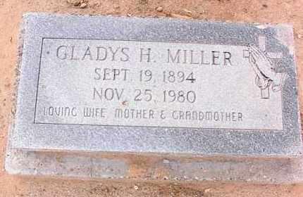 MILLER, GLADYS H. - Pinal County, Arizona | GLADYS H. MILLER - Arizona Gravestone Photos