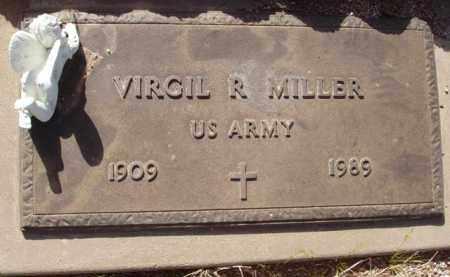 MILLER, VIRGIL R. - Pinal County, Arizona | VIRGIL R. MILLER - Arizona Gravestone Photos