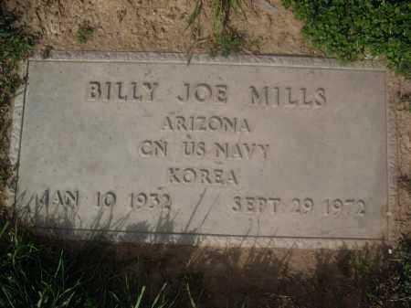 MILLLS, BILLY JOE - Pinal County, Arizona   BILLY JOE MILLLS - Arizona Gravestone Photos