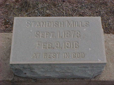 MILLS, STANDISH - Pinal County, Arizona | STANDISH MILLS - Arizona Gravestone Photos